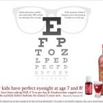 視力的保養