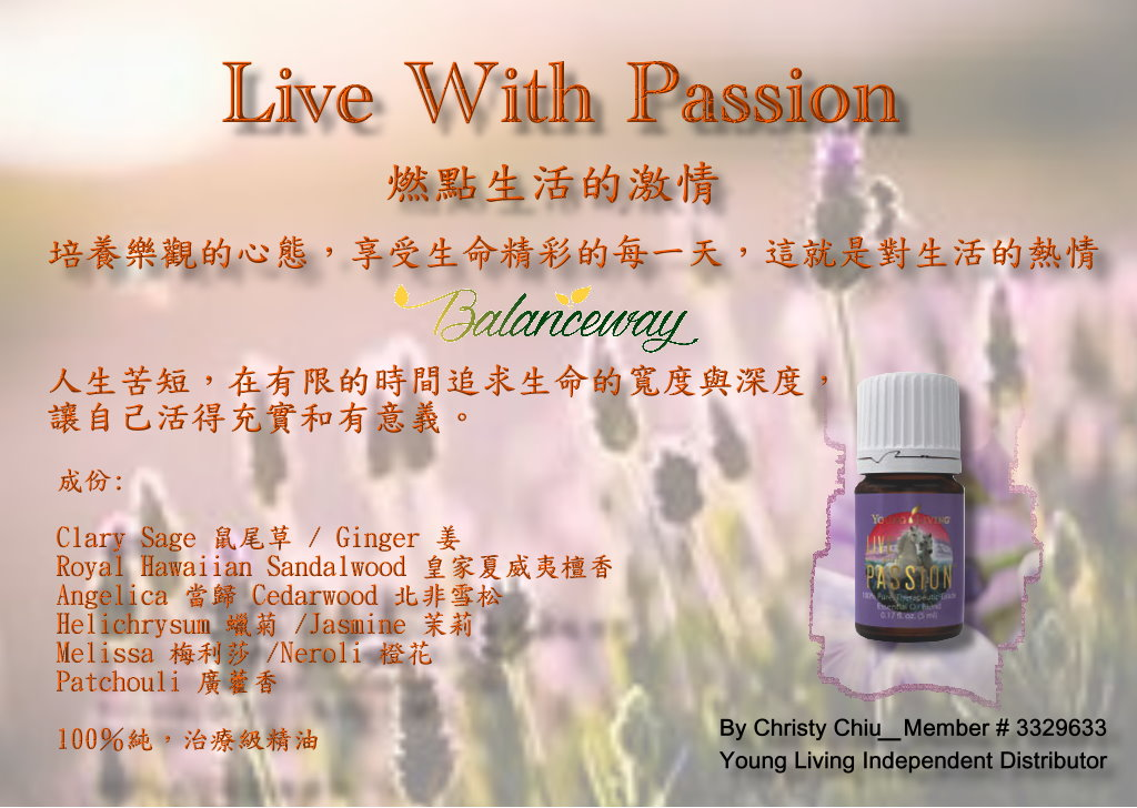 Live With Passion 05062016