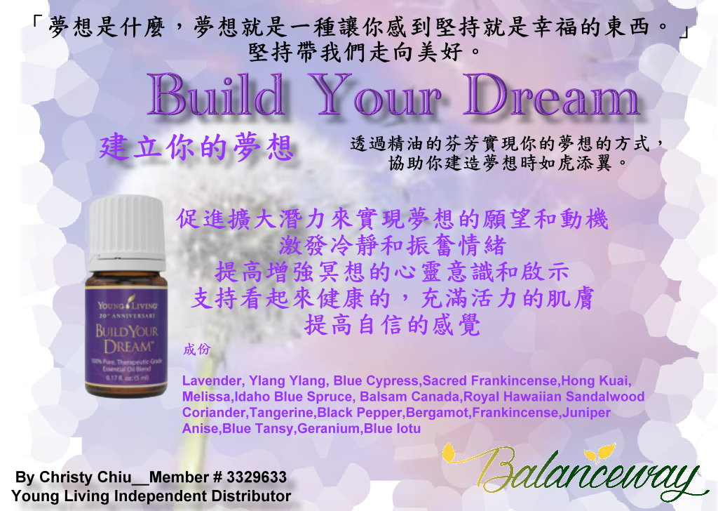 Build Your Dream 05072016